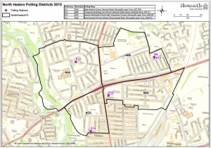 North Heaton Polling Districts 2015